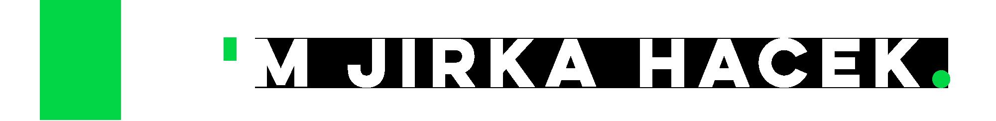 I'm Jirka Hacek.